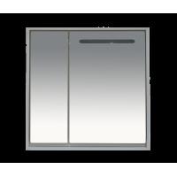 Зеркальный шкаф Misty Барселона - 90 Зеркало-шкаф со светом П-Брс02090
