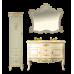 Мебель для ванной Misty Bianco 40 L бежевый сусальное золото Л-Бья05040-381Л