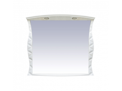 Мебель для ванной Misty CHARME - 100 Зеркало белое со светом Л-Чар02100-011Св