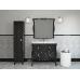 Мебель для ванной Misty CHARME - Пенал 40 лев. черный Л-Чар05040-021Л