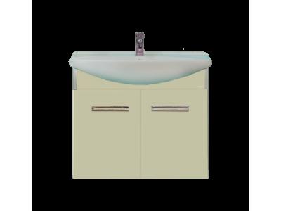 Мебель для ванной Misty Джулия - 65 Тумба подвесная бежевая Л-Джу01065-0310По