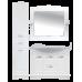 Мебель для ванной Misty Эльбрус -100 Тумба белая эмаль П-Эль01100-011