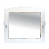 Misty Эльбрус -100 Зеркало белая эмаль П-Эль02100-011
