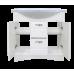 Мебель для ванной Misty Эльбрус - 80 Тумба белая эмаль П-Эль01080-011