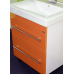 Мебель для ванной Misty Елена -70 Тумба с 2 ящ. ОРАНЖ П-Еле01070-132Я
