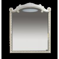 Зеркало Misty Элис -100 Зеркало белая патина/стекло Л-Эли02100-013