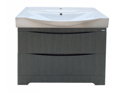 Мебель для ванной Misty Элвис - 105 Тумба напольная с 2 ящ. Венге П-Элв01105-0122Я