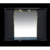 Misty Элвис -105 Зеркало-шкаф (свет) венге П-Элв-01105-052