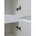 Мебель для ванной Misty Элвис - 35 Пенал прав. белая эмаль П-Элв-01035-011П