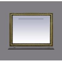 Зеркало Misty Fresko 105 краколет черный патина Л-Фре03105-0217
