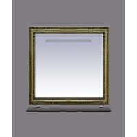 Зеркало Misty Fresko 90 краколет черный патина Л-Фре03090-0217