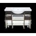 Мебель для ванной Misty Глория -105 Тумба с 2 ящ. ВЕНГЕ П-Гло01105-032Я