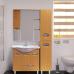 Мебель для ванной Misty Глория Пенал- 35 прав. БУК с корзиной бук П-Гло05035-18БкП