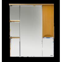Misty Глория 85 зеркало - шкаф прав. (свет) БУК бук П-Гло02085-18СвП