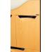 Мебель для ванной Misty Глория - 86  Тумба с 1ящ.+ Б/К ВЕНГЕ П-Гло01086-031Я