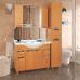 Мебель для ванной Misty Глория - 105 зеркало - шкаф  (свет) БУК П-Гло02105-18Св