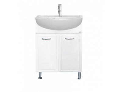 Мебель для ванной Misty Гретта - 60 Тумба прямая с Б/К Э-Гре01060-01Пр