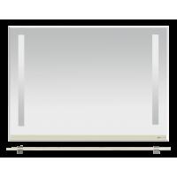 Misty Джулия -105 Зеркало с  полочкой 8 мм бежевое Beidge Л-Джу03105-5310