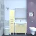 Мебель для ванной Misty Джулия - 75 Зеркало  с полочкой 8 мм бежевое Beidge Л-Джу03075-5310