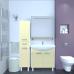 Мебель для ванной Misty Джулия - 90 Зеркало  с  полочкой 12 мм бежевое Л-Джу03090-0310
