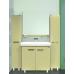 Мебель для ванной Misty Джулия - 90 Зеркало с полочкой 8 мм бежевое Beidge Л-Джу03090-5310
