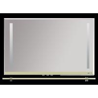 Зеркало Misty Джулия -120 Зеркало с полочкой 12 мм бежевое Л-Джу03120-0310