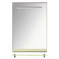 Misty Джулия - 60 Зеркало  с полочкой 12 мм бежевое Л-Джу03060-0310