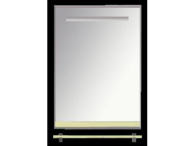 Мебель для ванной Misty Джулия - 60 Зеркало  с полочкой 12 мм бежевое Л-Джу03060-0310