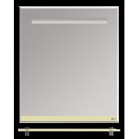 Misty Джулия - 65 Зеркало  с полочкой 12 мм бежевое Л-Джу03065-0310