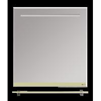 Misty Джулия - 75 Зеркало  с полочкой 12 мм бежевое Л-Джу03075-0310