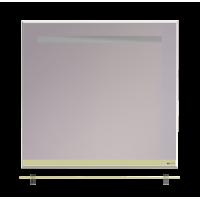 Зеркало Misty Джулия - 85 Зеркало  с  полочкой 12 мм бежевое Л-Джу03085-0310