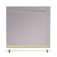Зеркало Misty Джулия - 85 Зеркало  с  полочкой 8 мм бежевое Beidge Л-Джу03085-5310