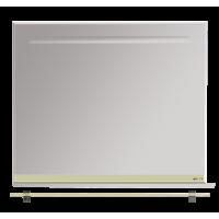 Misty Джулия - 90 Зеркало с полочкой 8 мм бежевое Beidge Л-Джу03090-5310