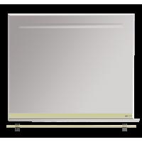 Misty Джулия - 90 Зеркало  с  полочкой 12 мм бежевое Л-Джу03090-0310