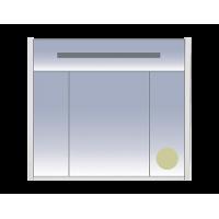 Misty Джулия - 85 Шкаф бежевый Beidge зеркальный Л-Джу04085-5310