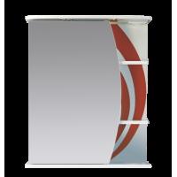 Зеркальный шкаф Misty Каролина 60 L красный П-Крл02060-265СвЛ