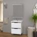 Мебель для ванной Misty Лайм 60 с 2-мя ящиками Э-Лай01060-2Я