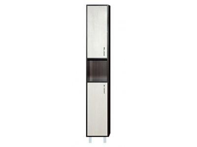 Мебель для ванной Misty Браво - 30 Пенал левый комбинированный L Э-Бра05030-19Л