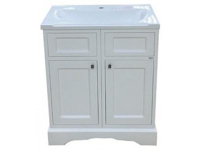 Мебель для ванной Misty Герда - 70 Тумба  белая эмаль П-Гер01070-011