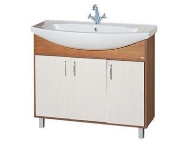Мебель для ванной Misty Лада - 75 Тумба комбинированная Э-Лда01075-19