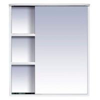 Зеркальный шкаф Misty Венера  - 70 Зеркало-шкаф прав. со светом белое П-Внр04070-01СвП