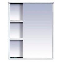 Зеркальный шкаф Misty Венера  - 60 Зеркало-шкаф прав. со светом белое П-Внр04060-01СвП