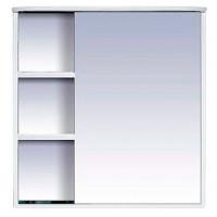 Зеркальный шкаф Misty Венера  - 80 Зеркало-шкаф прав. со светом белое П-Внр04080-01СвП