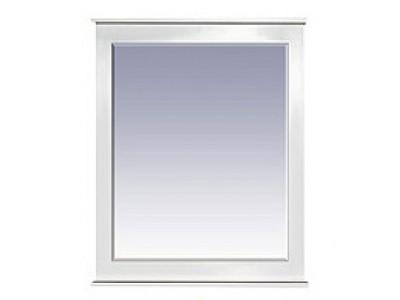Мебель для ванной Misty Женева 60 зеркало белое патина П-Жен02060-013