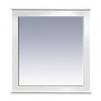 Misty Женева 80 зеркало белое патина П-Жен02080-013