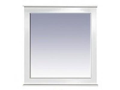 Мебель для ванной Misty Женева 80 зеркало белое патина П-Жен02080-013