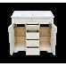 Мебель для ванной Misty Milano 100 Л-Мил01100-0134Я