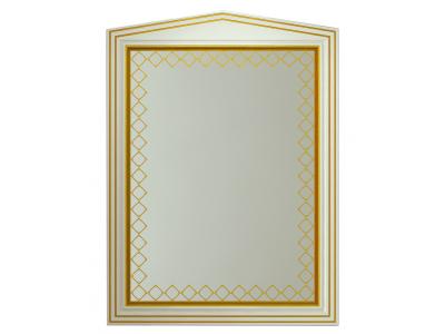 Мебель для ванной Misty Ницца 70 белое патина Л-Ниц02070-013
