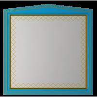 Зеркало Misty Ницца 100 бирюзоое патина Л-Ниц02100-093