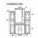 Мебель для ванной Misty Olimpia Lux 90 L Л-Олл04090-033СвЛ